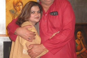 With Raza Murad Ji