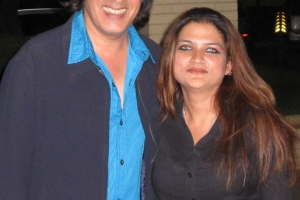 With Rahul Roy